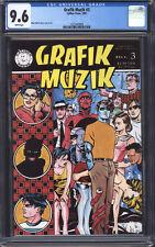 GRAFIK MUZIK #3 CGC 9.6 NM+ / Mike Allred, very early Madman!