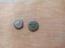 lote de 2 monedas de Judea,epoca de Tiberio.
