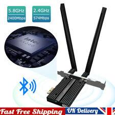 More details for intel pci-e wifi 6 adapter desktop wireless 3000m bluetooth 5.0 ax200n wifi card