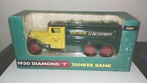 "1930 John Deere  Diamond ""T"" Lube Express Truck Bank"
