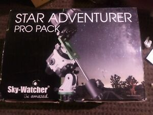 Sky-Watcher Star Adventurer Pro Pack Astrophotography Star Tracker NEW Missing