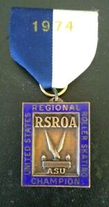RSROA 1974 US ASU Regional Roller Skating Champion- Artistic Skate Union Medal