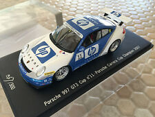 PORSCHE HP 911 997 GT3 CARRERA CUP CHAMPION 2007 1/43rd SPARK MODEL #67 of 300