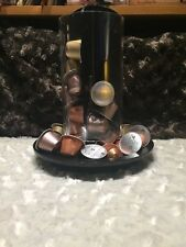 Nespresso Coffee Capsules HOLDER TOTEM Glass Collection Gently Used NOT GLASS
