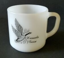 Canada Goose Coffee Mug Federal Glass Canvasback Duck Vintage Cup