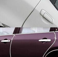 Auto Hobby 30/mm x 5/meter Modanatura cromata barra universale flessibile autoadesivo in plastica Tuning Styling Cromo