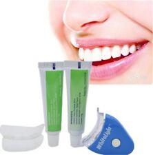 Set Blanqueador Blanqueante Dental Dientes Blancos Luz LED Gel Dentrifico Oral