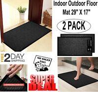 Outdoor Indoor Floor Mat Entrance Home Doormat Welcome Non Slip Rug Front Door