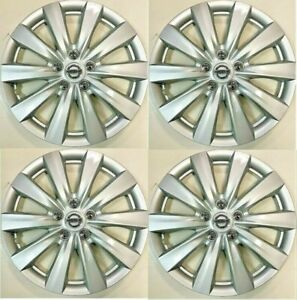 "4 NEW SET 16"" Hubcap Wheel cover Fits 2010-2018 NISSAN SENTRA ALTIMA ROGUE"