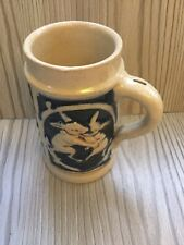 More details for vintage embossed hare and gnome character jug/tankard rare