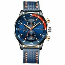 Globenfeld Daytimer Mens Royal Navy Blue Sports Watch - Quartz Analogue ChrGraph