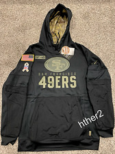 AUTHENTIC Nike 2020 San Francisco 49ers Salute to Service Hoodie ALL SIZES