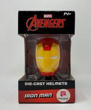 Marvel Avengers IRON MAN Die Cast Helmet Walgreens Exclusive Collectible Mini