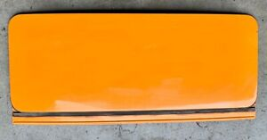 PORSCHE 911 912 ORIGINAL SUNROOF PANEL WITH HARDWARE 1965-1973