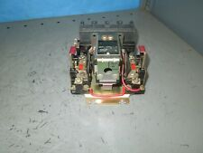 Square D 8536-C0-3 Size 1 Open Starter 27/30A 3ph 120V Coil B3.00/B11.5 Heaters