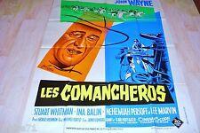 john wayne  LES COMANCHEROS   !  affiche cinema western