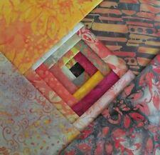 "Batik Fabric - 40 - 5 "" Charm Squares - Sunny Days - Free AU Post !!"