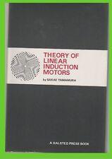 THEORY of linear INDUCTION motors YAMAMURA SAKAE gzl book