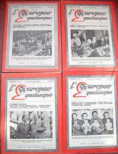 1947 'L'EUROPEO QUALUNQUE' RIVISTA DELL''UOMO QUALUNQUE' GUGLIELMO GIANNINI RARO