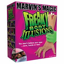 Freaky Body Illusions by Marvin Magic horror illusion levitation Kit Set Trick