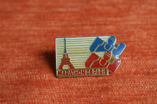 11140 PIN'S PINS COURSE MARATHON DE PARIS TOUR EIFFEL TOWER RUNNING