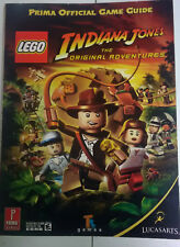 * LEGO INDIANA JONES THE ORIGINAL ADVENTURES Prima Official Strategy Guide Book