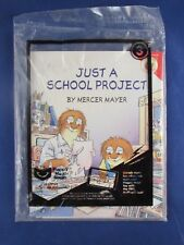 McDONALDS HAPPY MEAL BOOK - JUST A SCHOOL PROJECT BY MERCER MAYER - NEW SEALED