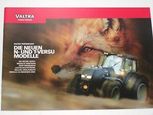 VALTRA 29 VALTRA T-SERIE Traktoren Prospekt von 07//08