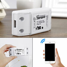 Mobile Phone app WiFi Wireless Smart Switch Module ABS Shell Socket for DIY Home