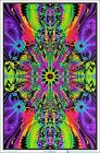 Wormhole Blacklight Poster 23 x 35