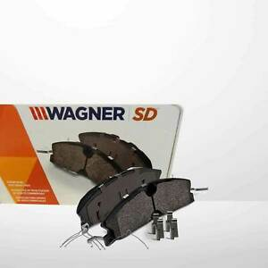 Wagner Severe Duty Sx756 Semi-Metallic Disc Pad Set & Inst Hardware Fits Ford