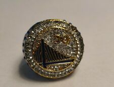 2015 Golden State Warriors Championship Memorabilia Display Detail Costume Ring