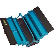 Hazet Metall-Werkzeugkasten leer 190L, Werkzeugkiste, blau