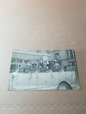 More details for old rp postcard.  white rose motors rhyl. charabanc and passengers.   l/2955