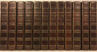 LEATHER Set;WORKS OF BRONTE! COMPLETE THORNTON EDITION Rare GIFT! Jane Eyre 1907
