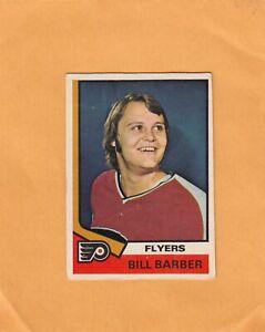 1974-75 O PEE CHEE BILL BARBER NO:8   v g cond+