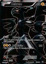 Pokemon Black and White Zekrom 114-114 Card Full Art HOLO - Ultra Rare NM
