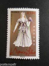 FRANCE 2006, timbre 3921, CELEBRITE, MOZART, COSTUME DE GRAF, neuf**, MNH STAMP