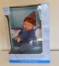 BN Boxed ANNE GEDDES Bean Filled Collection Zodiac Virgo Star Sign Baby Doll
