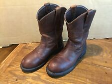 "Ariat Boots Rigtek Men's 11"" Pull On Steel Toe Wellington 10015397 Safety Sz 8 D"