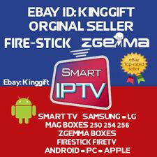 12 mese Premium IPTV zgemma MAG 256/254 iOS Android Smart TV firestick M3U un **