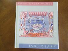 Royal Opera House 1988 DIARY   ILLUS HB