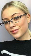New COACH HC 4750 6291 Burgundy 52mm SemiRimless Eyeglasses Frame