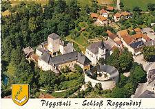 AK aus Pöggstall, Schloss Roggendorf, Alpine Luftbild, Niederösterreich   (F21)