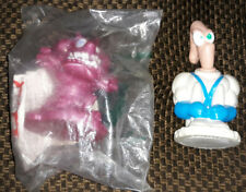 2 Earthworm Jim Taco Bell toys 1995 - Pop My Top Jim and Monster (Mip)