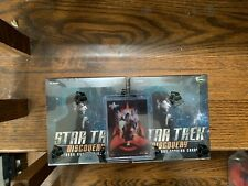 TWO Star Trek Discovery Season 1 Trading Card Hobby Boxes + Case Topper / Loader