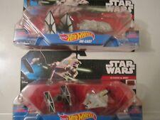 star wars hot wheels 2-pack lot