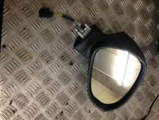 2011 1P1 1.2 TSI 5 puerta escotilla Seat Leon Negro Controlador Eléctrico Espejo Ala Derecha