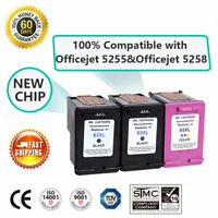 3 PK Compatible Ink Cartridges for HP 63XL Deskjet 1110 1112 Officejet 5255 5258