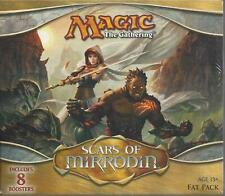 MTG  SCARS OF MIRRODIN FAT PACK FACTORY SEALED FREE SHIPPIING